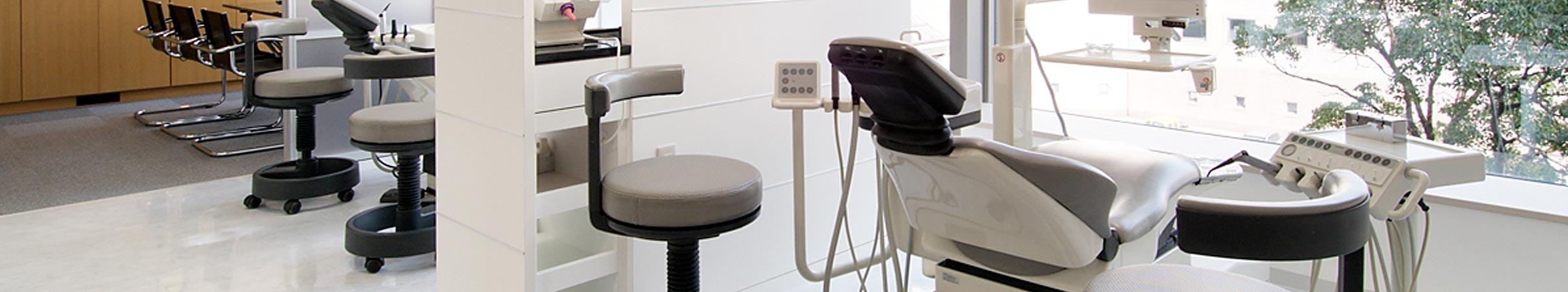 MMデンタルクリニック治療室